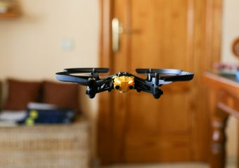 Drone indoor testing flight 1